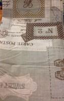 tessuto stampa lettere postali
